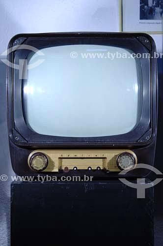 Tv Admiral - Televisor à válvula - Museu do Computador - São Paulo - SP - Brasil  - São Paulo - São Paulo - Brasil