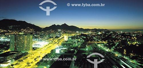 Assunto: Avenida Presidente Vargas e Linha FérreaLocal: Rio de Janeiro - RJ - BrasilData: 14/09/2000