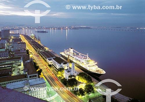 Assunto: Porto do Rio de JaneiroLocal: Rio de Janeiro - RJData: 24/04/1999