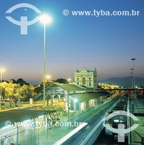 Assunto: Estação Ferroviária de Marechal Hermes / Local: Rio de Janeiro - RJ / Data: 24/04/99