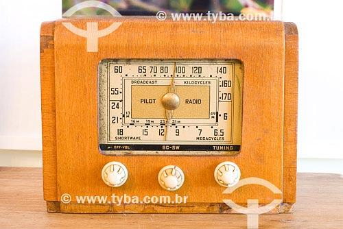 Assunto: Rádio antigoLocal: Campos do Jordão - SPPaís: BrasilData: 26/01/2008