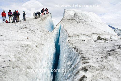 Assunto: Caminhada no gelo, no Glaciar ViedmaLocal: Parque Nacional Los Glaciares, PatagôniaPaís: ArgentinaData: 22/01/2007