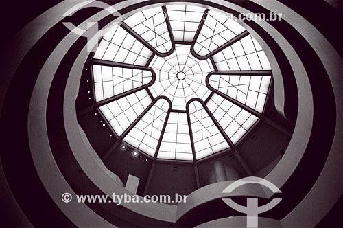 Assunto: Reprodução no Museu Guggenheim Local: Nova Iórque - EUAData: 18/10/1999