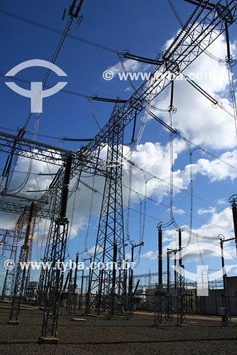 Assunto: Sub-estação de Energia Elétrica - Interconexão Brasil-Argentina - Conversora GarabiLocal: Rio Grande do SulData: Março de 2008