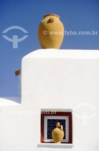 Assunto: Detalhe de arquiteturaLocal: Mykonos - GréciaData: