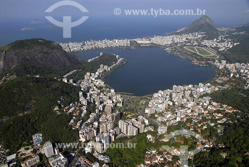 Assunto: Vista da Lagoa Rodrigo de FreitasLocal: Rio de Janeiro - RJData: 17/06/2006