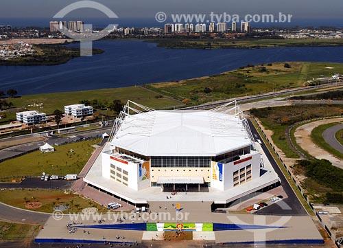 Assunto: Arena MultiusoLocal: Barra da Tijuca - Rio de Janeiro - RJData: 05/08/2006