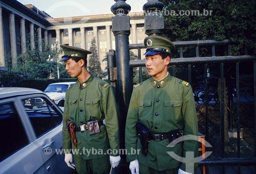 Assunto: Guardas em BeijingLocal: Beijing - China