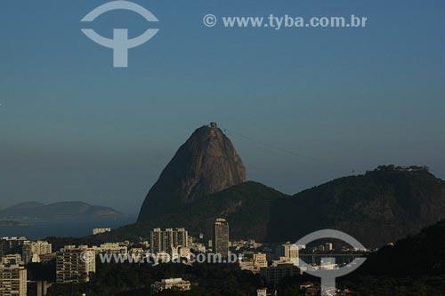 Assunto: Vista de Botafogo com Pão de Açúcar ao fundoLocal: Rio de Janeiro - RJData: 17/11/2006