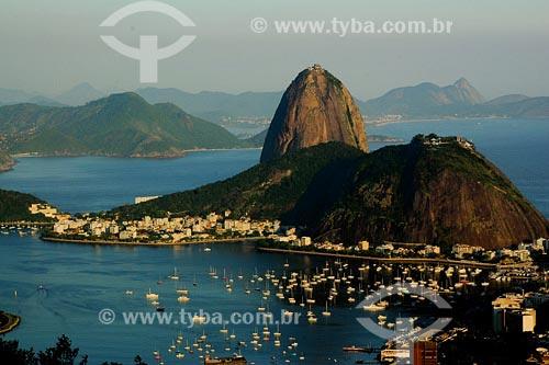 Assunto: Enseada de Botafogo e Pão de AçúcarLocal: Rio de Janeiro - RJData: 17/11/2006