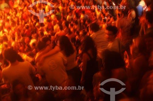 Assunto: Platéia em show no Circo Voador / Local: Rio de Janeiro - RJ - Brasil / Data: 2008