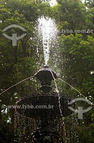Assunto: Chafariz no Jardim BotânicoLocal: Rio de Janeiro - RJData: 04/11/2006