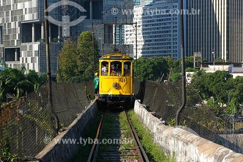 Assunto: Bondinho sobre Arcos da LapaLocal: Rio de Janeiro - RJData: 17/11/2006