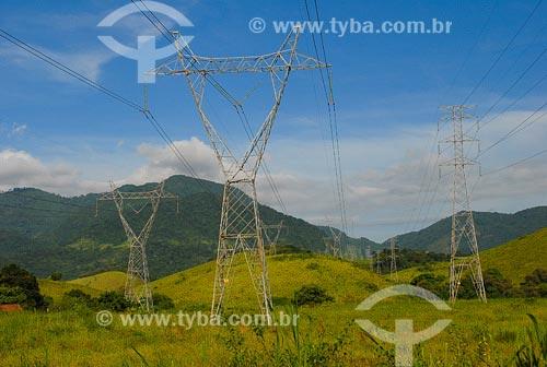 Assunto: Torres de transmissãoLocal: Cachoeira de Macacu- RJData: Março de 2008