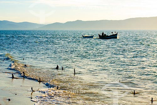 Assunto: Praia da Daniela. Local: Florianópolis - SC- Brasil.Data: Abril de 2008