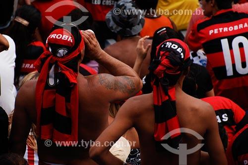 Assunto: Torcida do Flamengo no Maracanã / Local: Rio de Janeiro - RJ / Data: 02/2008