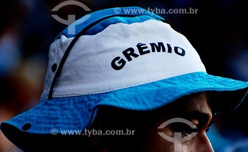 Assunto: Torcedor do Grêmio FC no estádio Olimpico Monumental / Local: Porto Alegre - RS / Data: 04/2008