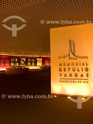 Assunto: Interior do Memorial Getúlio Vargas / Local: Glória - Rio de Janeiro - RJ / Data: 06/2008