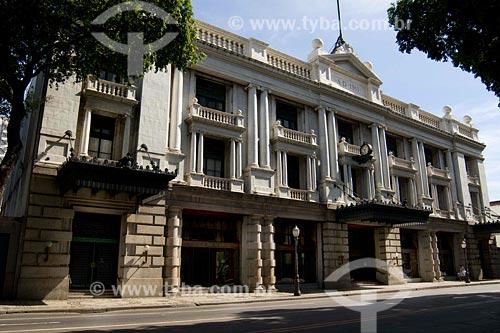 Assunto: frente do prédio da empresa Light S.A. / Local: Avenida Marechal Floriano, Centro - Rio de Janeiro - RJ - Brasil / Data: 02/2008