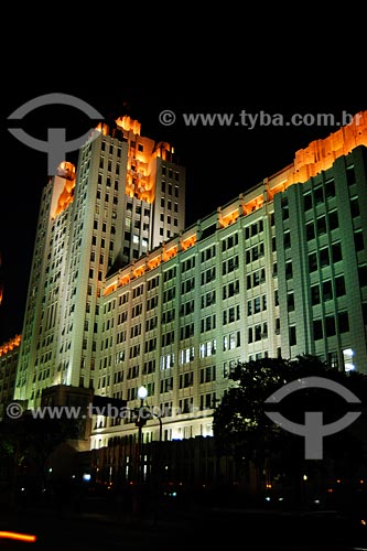 Assunto: Palácio Duque de Caxias / Local: Centro - Rio de Janeiro - RJ - Brasil / Data: 03/2008