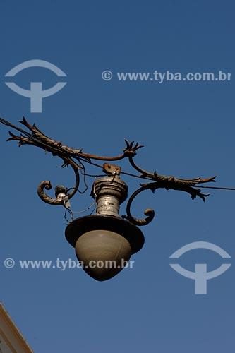 Assunto: luminária urbana Local: Bairro do Centro - Rio de Janeiro -RJ - BrasilData: 2008