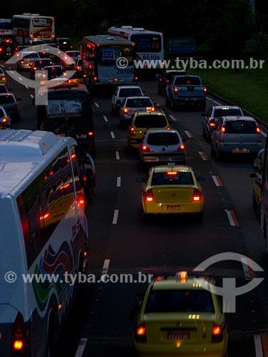 Assunto: Trânsito no Aterro do Flamengo / Local: Rio de Janeiro - RJ / Data: 02/2008