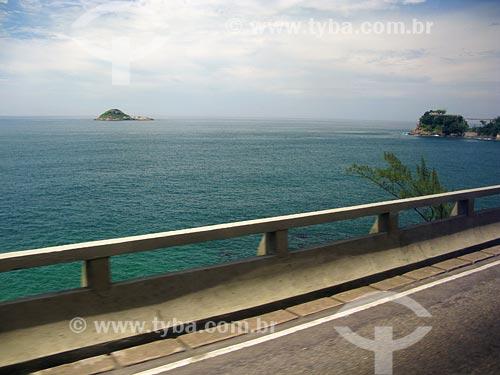 Assunto: Mar visto do Elevado do Joá / Local: Rio de Janeiro - RJ / Data: 02/2008