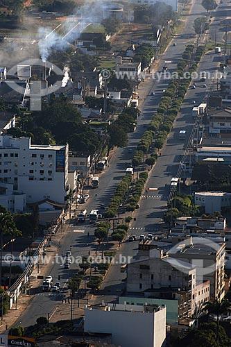 Assunto: Itaperuna - Vista Geral com a Av. Cardoso Moreira / Local: Noroeste Fluminense - RJ / Data: 06/2008