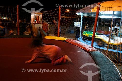Assunto: Miracema - Parque de diversao - Brinquedos em quermesse comemorativa do Dia de Santo Antônio, 13 de junho, padroeiro da cidade / Local: Noroeste Fluminense - RJ / Data: 2008