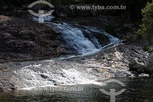 Assunto: Cachoeira de São Miguel / Local: Biguaçu - SC / Data: 05/2008