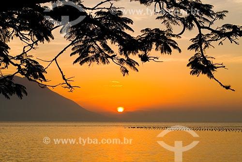 Assunto: Por do sol na Praia da Caieira da Barra do Sul / Local: Florianópolis - SC - Brasil / Data: 20/05/2008