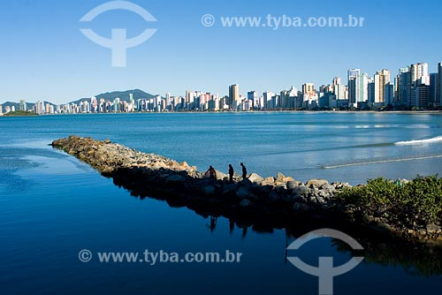 Assunto: Vista da cidade / Local: Balneário Camboriú - SC - Brasil / Data: 10/06/2008