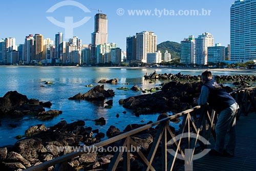 Assunto: Passarela do Pontal Norte / Local: Balneário Camboriú - SC - Brasil / Data: 10/06/2008