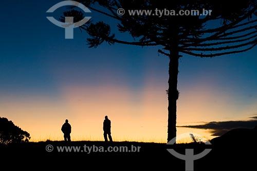 Assunto: Por do sol na Serra da Boa Vista / Local: Serra da Boa Vista, no município de Rancho Queimado - SC - Brasil / Data: 14/06/2008