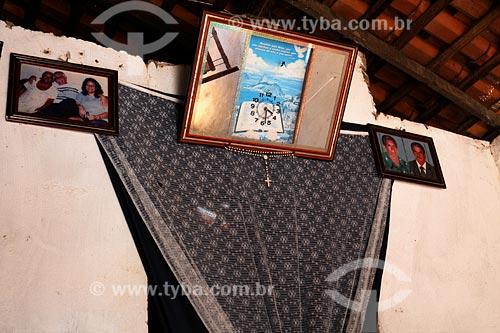 Assunto: Interior da casa de Elias da Conceição (pescador) / Local: Tufilândia - MA / Data: 08/2008