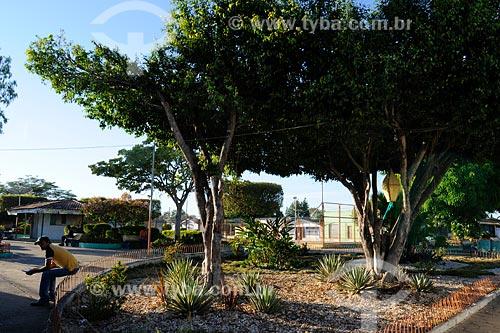 Assunto: Praça no município da Vila Nova dos Martírios / Local: MA / Data: 08/2008