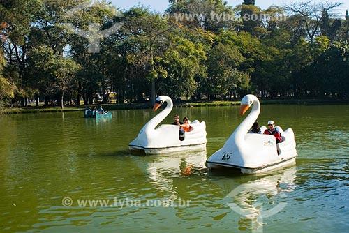 Assunto: Pedalinhos no Parque Farroupilha (Parque da Redenção) / Local: Porto Alegre - RS - Brasil / Data: 05/07/2008