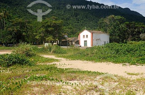 Assunto: Primeira capela construída por colonizadores ao redor de Paraty / Local: Paraty Mirim - Paraty - RJ / Data: fevereiro 2008