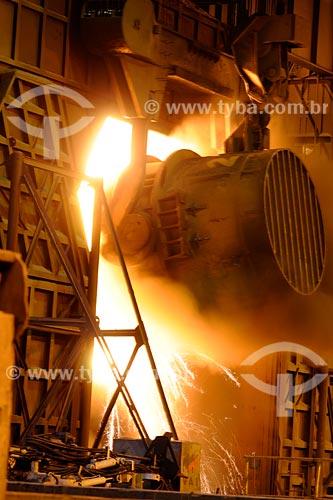 Assunto: Acearía - Companhia Siderurgica Nacional (CSN)  / Local: Volta Redonda - RJ / Data: julho 2008