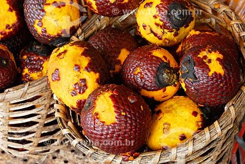 Assunto: Burití, Mercado Ver-o-Peso / Local: Belem - PA / Data: 02/2008