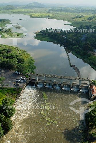 Assunto: Estação de tratamento de água do rio Guandú / Local: Nova Iguaçu - RJ / Data: fevereiro 2008