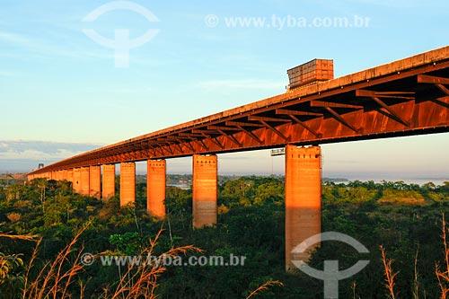 Assunto: Ponte rodoferroviária sobre o rio Tocantins / Local: Marabá - PA / Data: 08/2008