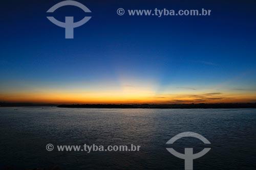 Assunto: Vista para a confluência dos rios Tocantins e Araguaia - Orla Sebastião Miranda - Bairro Santa Rosa / Local: Marabá - PA
