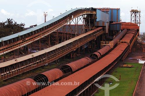 Assunto: Esteira para escoamento de minério ao Porto de Itaquí - CVRD (Companhia Vale do Rio Doce) / Local: São Luis - MA / Data: 08/2008