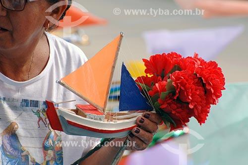 Assunto: Procissão maritima - Dia de São Pedro, protetor dos Navegantes / Local: Rio Anil - São Luis - MA / Data: 08/2008