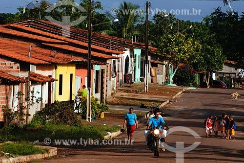 Assunto: Pessoas na rua em Miranda do Norte / Local: Miranda do Norte - MA / Data: 08/2008