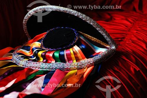 Assunto: Fantasía de Brincante de Bumba-meu-boi / Local: Miranda do Norte - MA / Data: 08/2008