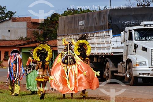 Assunto: Grupo Boi da Juventude (brincantes de bumba-meu-boi) / Local: Miranda do Norte - MA / Data: 08/2008
