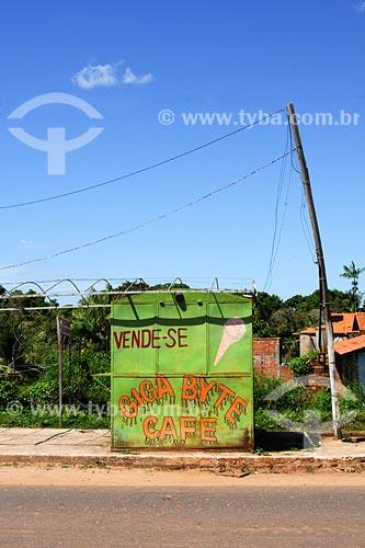 Assunto: Quiosque comercial  / Local: Igarapé do Meio - MA / Data: 08/2008