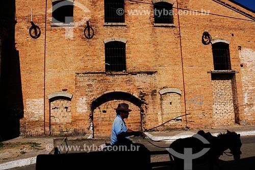 Assunto: Antigo Engenho Central , posteriormente Companhia Progresso / Local: Pindaré-Mirim - MA / Data: 08/2008